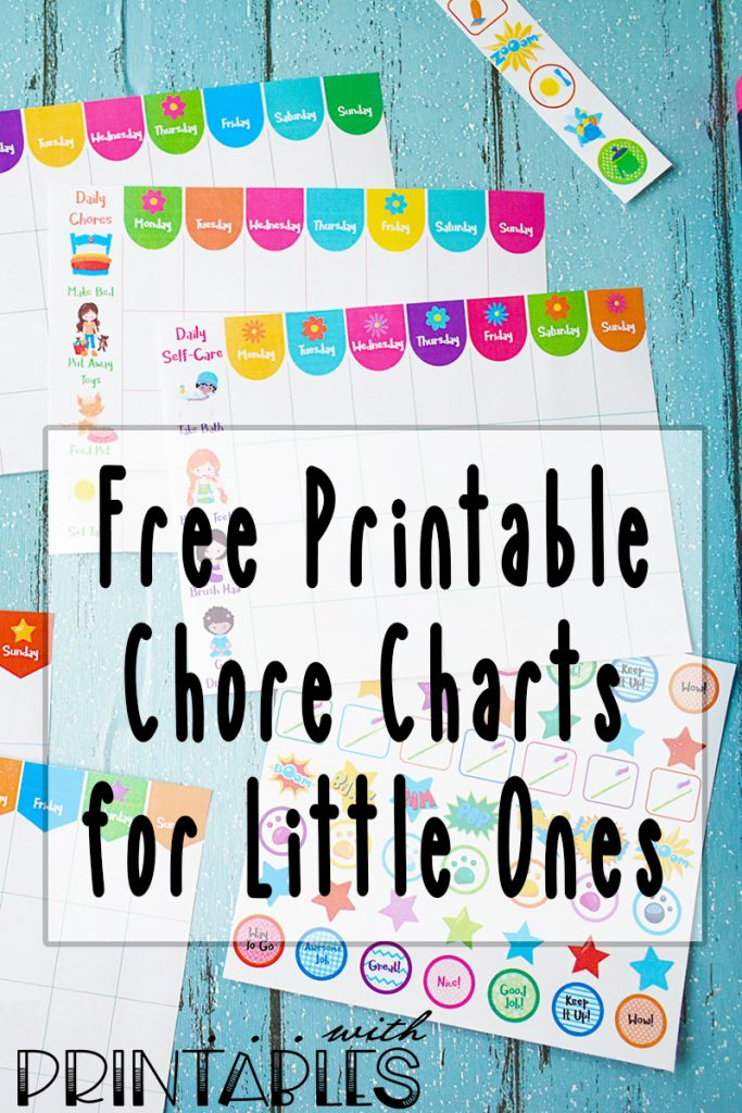 It's just a picture of Free Printable Chore Charts for Kids intended for toddler
